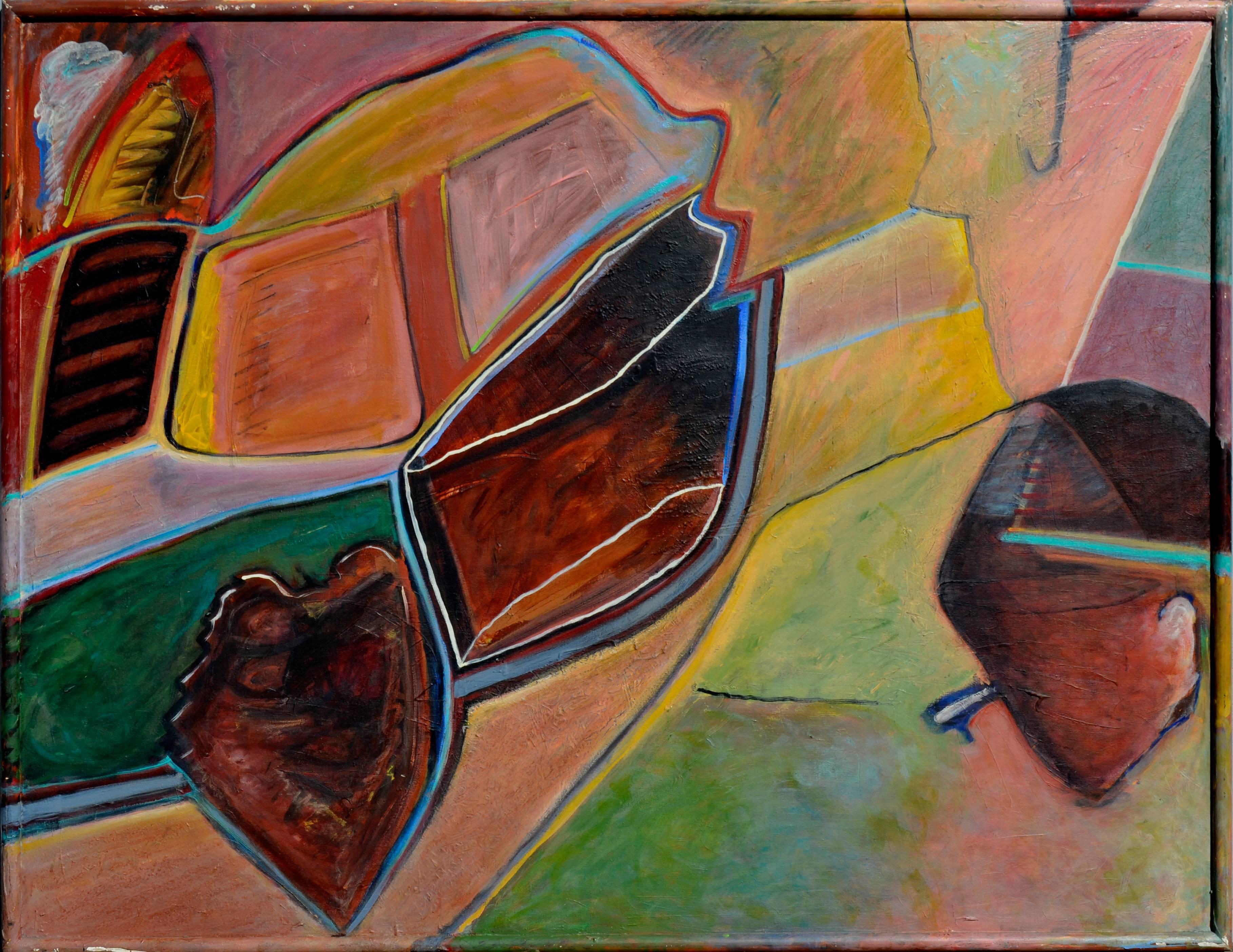 """""""Veiled Spirit"""" - Mid Century Abstract"""