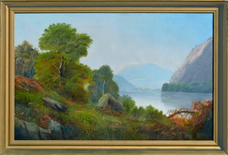 Hudson River School, Circa 1850 Landscape Painting - Hudson River School after Asher Durand