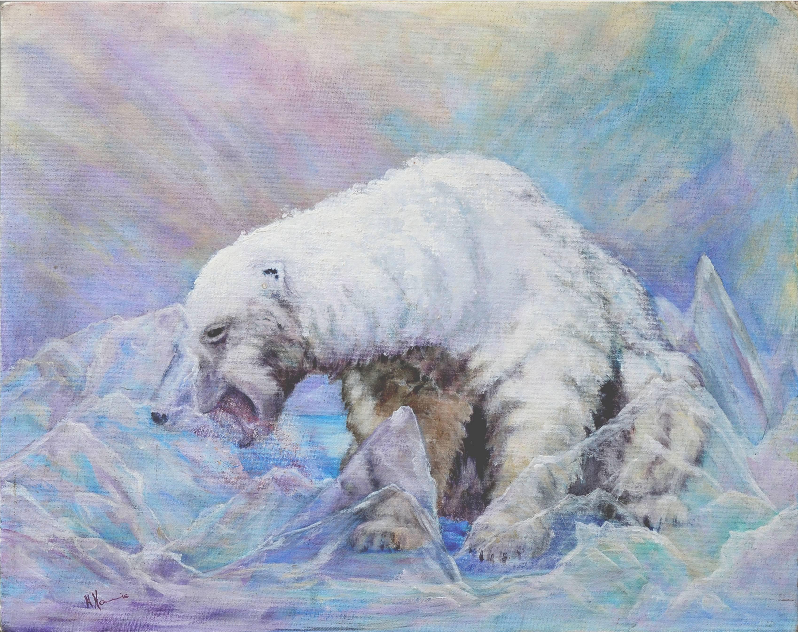 Arctic Polar Bear by Helen Ray Harris