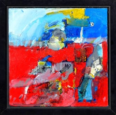 Fetishes, Abstract in Red, Blue and Yellow