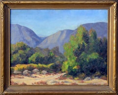Trail into California Mountains by Sidney Lorenzo Brock, Oklahoman