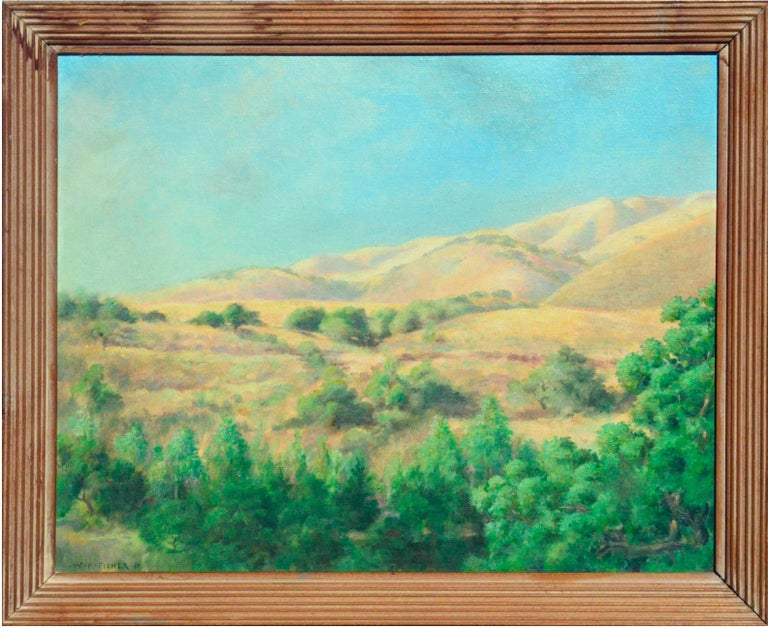 Walter Kenrick Fisher Landscape Painting - California Foothills