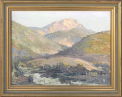 Early 20th Century Spring in the Valley Landscape