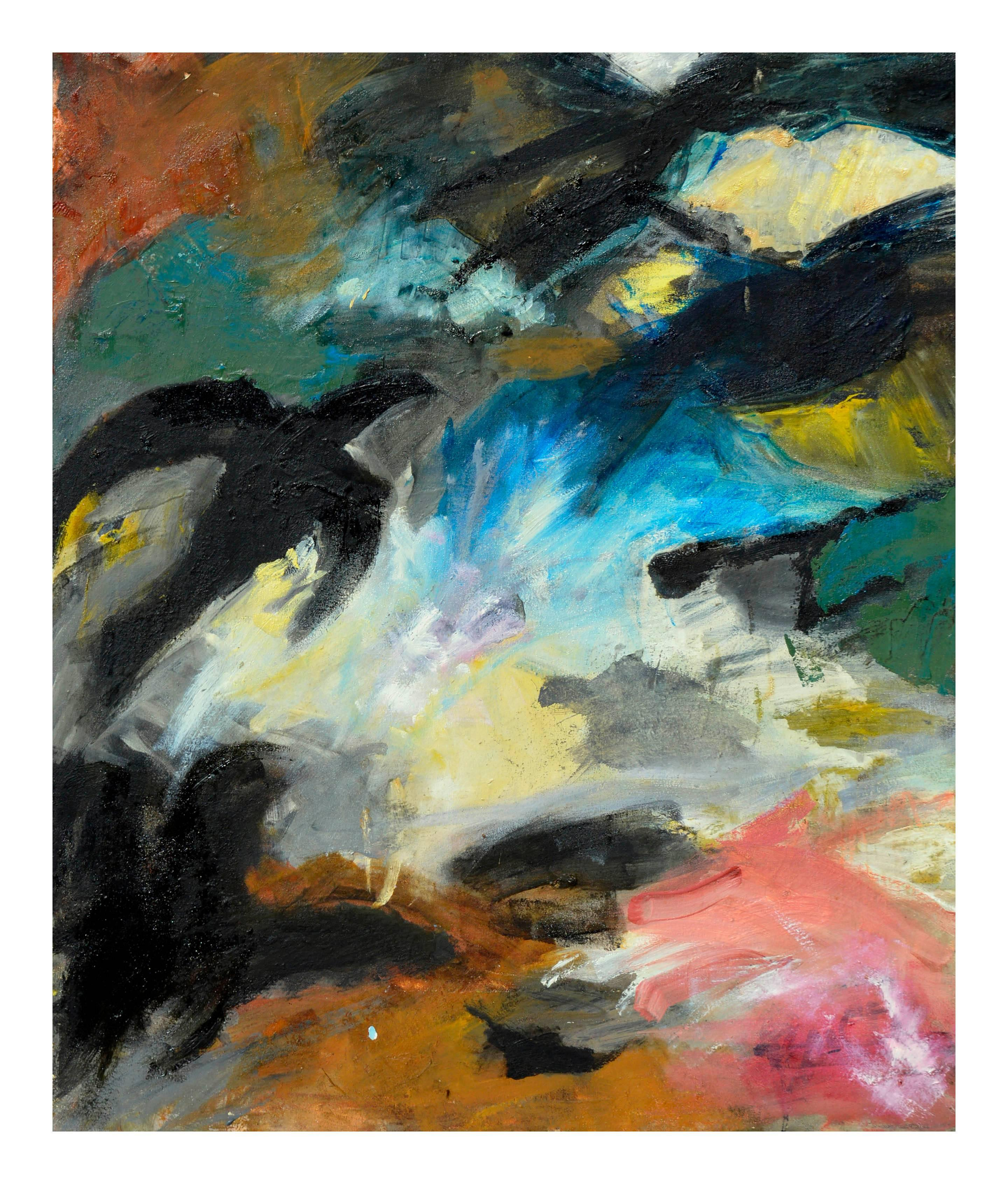 Abstract Expressionism -- Crows On The Field