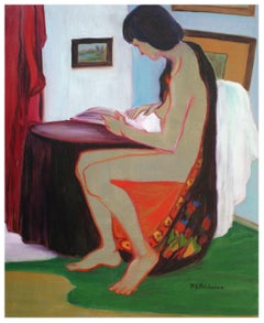 Mid Century Morning Nude Figurative