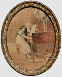 The First Piano Lesson