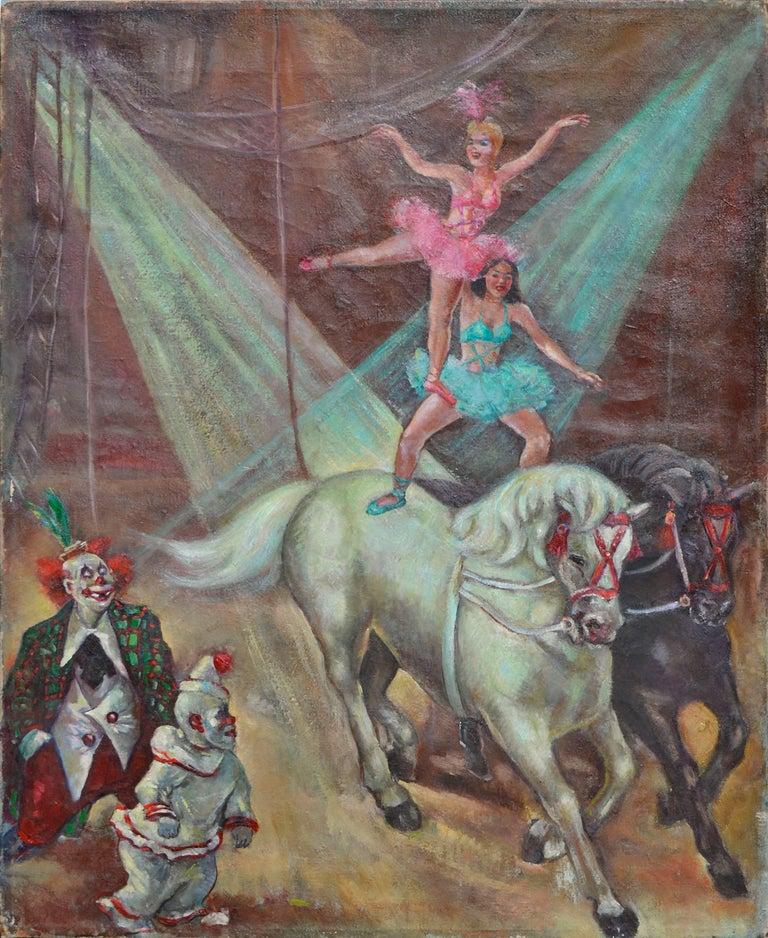Circus Big Top - Horses, Riders & Clowns
