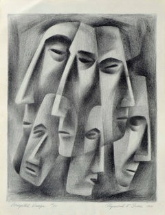 Faces Abstract