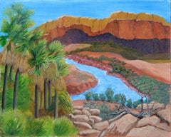 Canyon and River - Desert Landscape