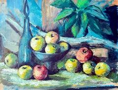 Apple Still Life by Margaret Swank