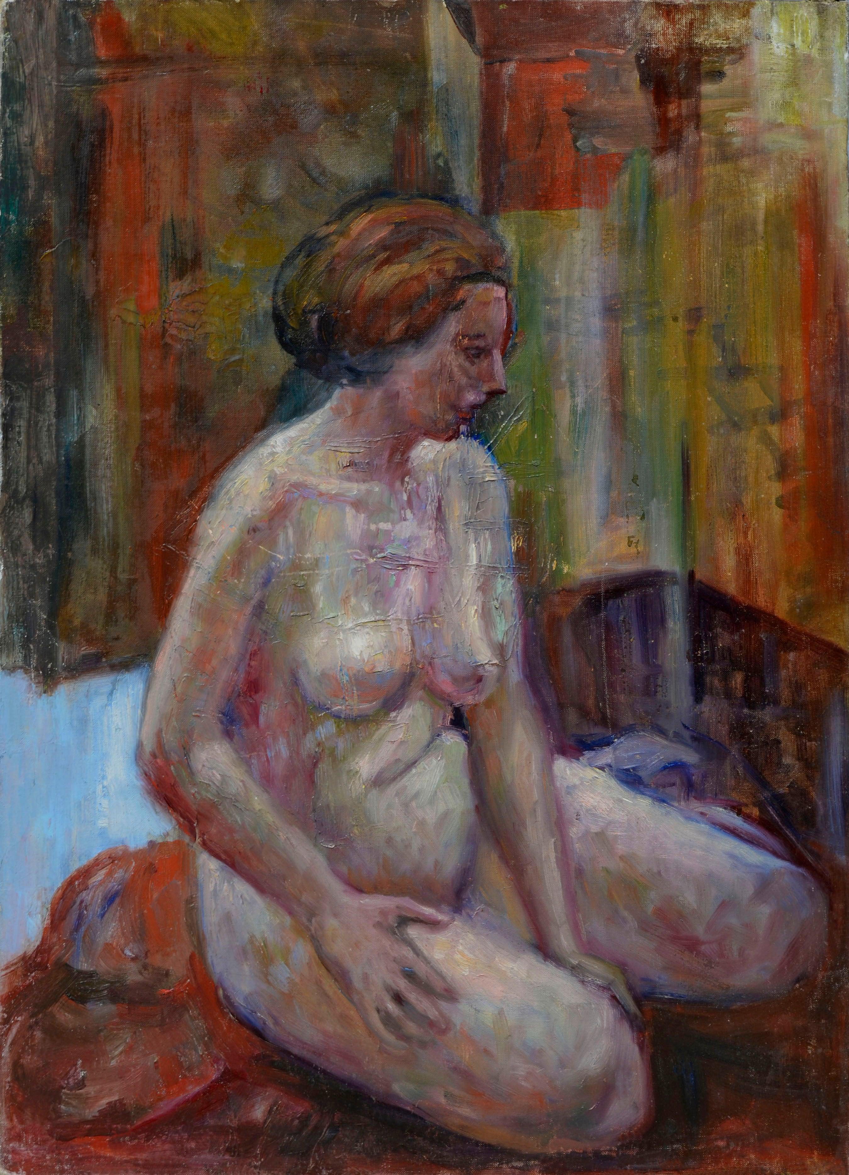 Pensive Nude Figurative