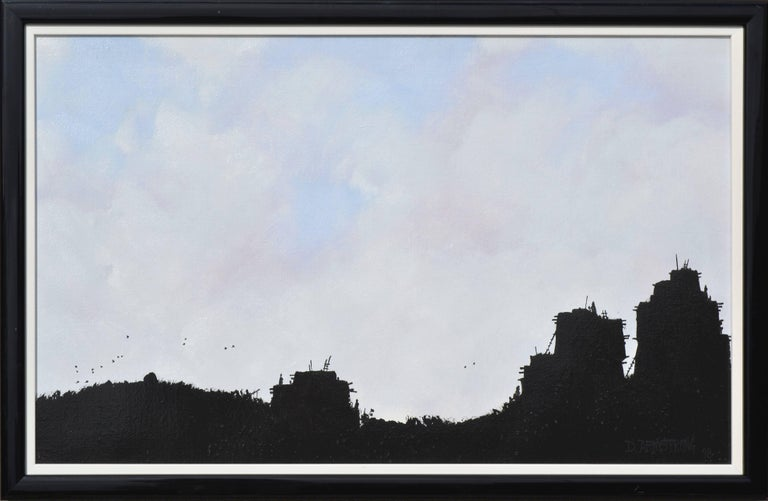 Pueblo Silhouette by Duane Armstrong