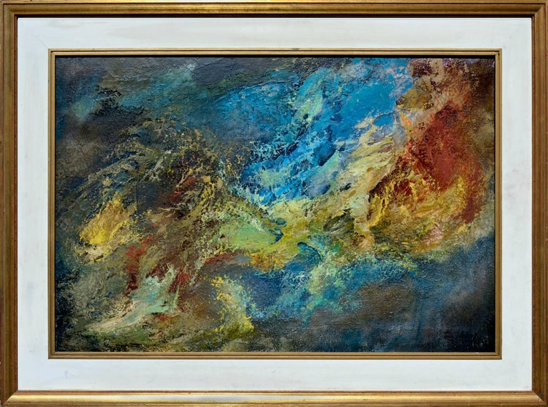 Leta Peghini Abstract Painting - Wave Abstract