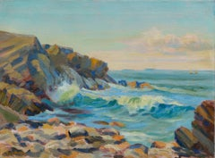Rugged California Coast by Charles Morris