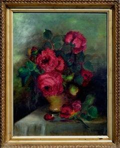 Red Roses Still Life