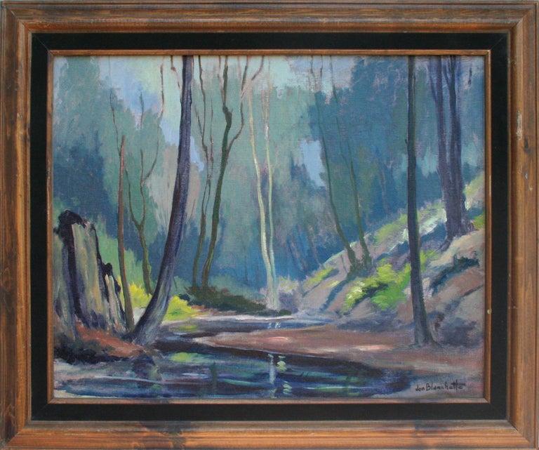 Stream Through the Nisene Marks Forest Jon Blanchette
