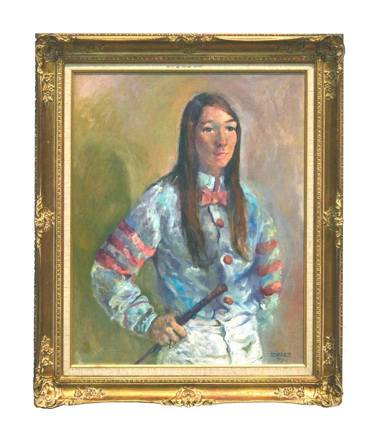 Robyn Smith (Astair) Female Jockey, 1972