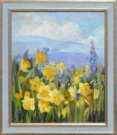 Daffodils in the Carmel Valley by Nell Walker Warner