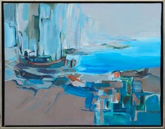 Abstract Expressionist Quayside
