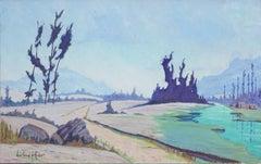 Mid Century California Landscape