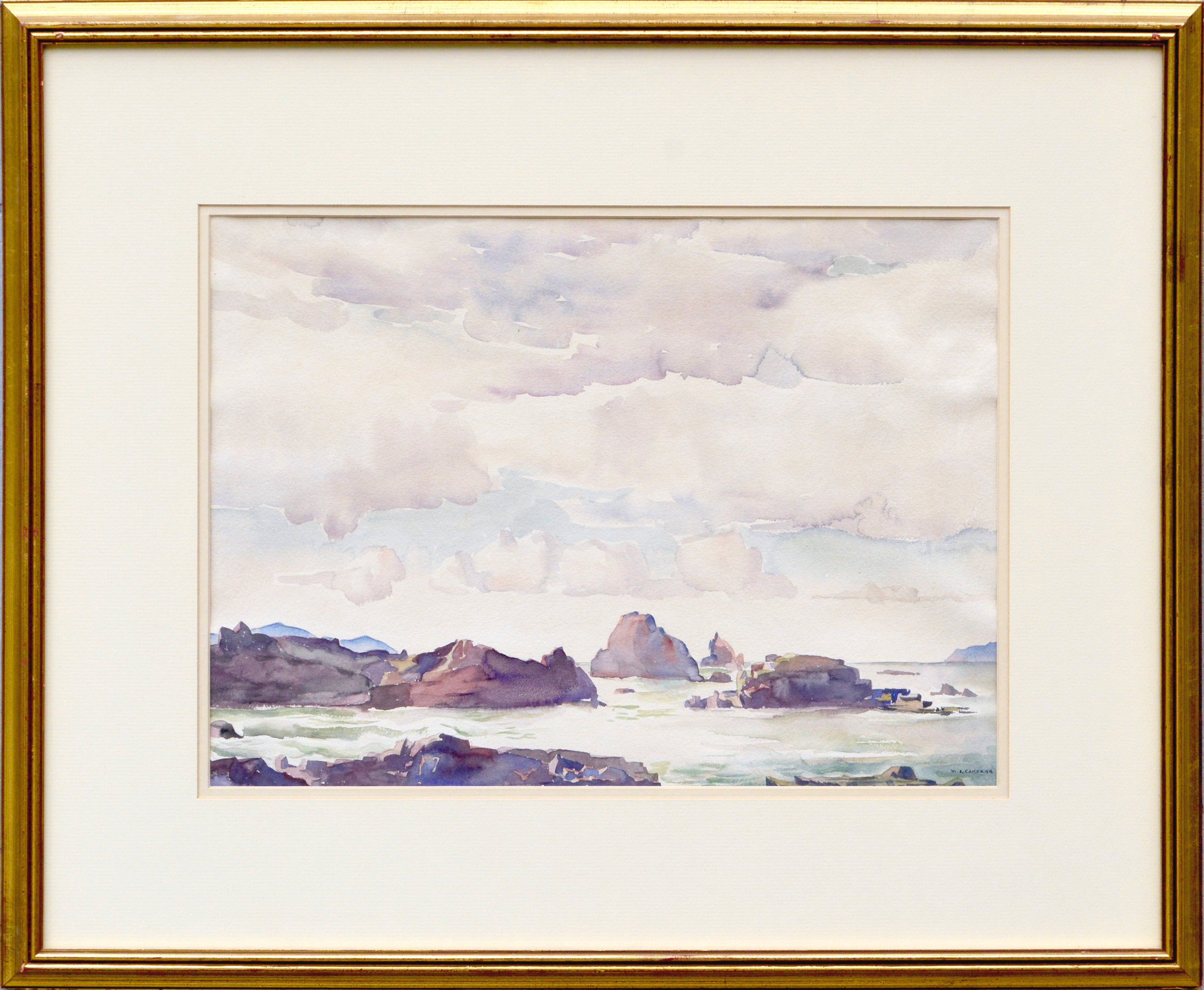 """Rock Bound Coast"" Carmel Landscape"