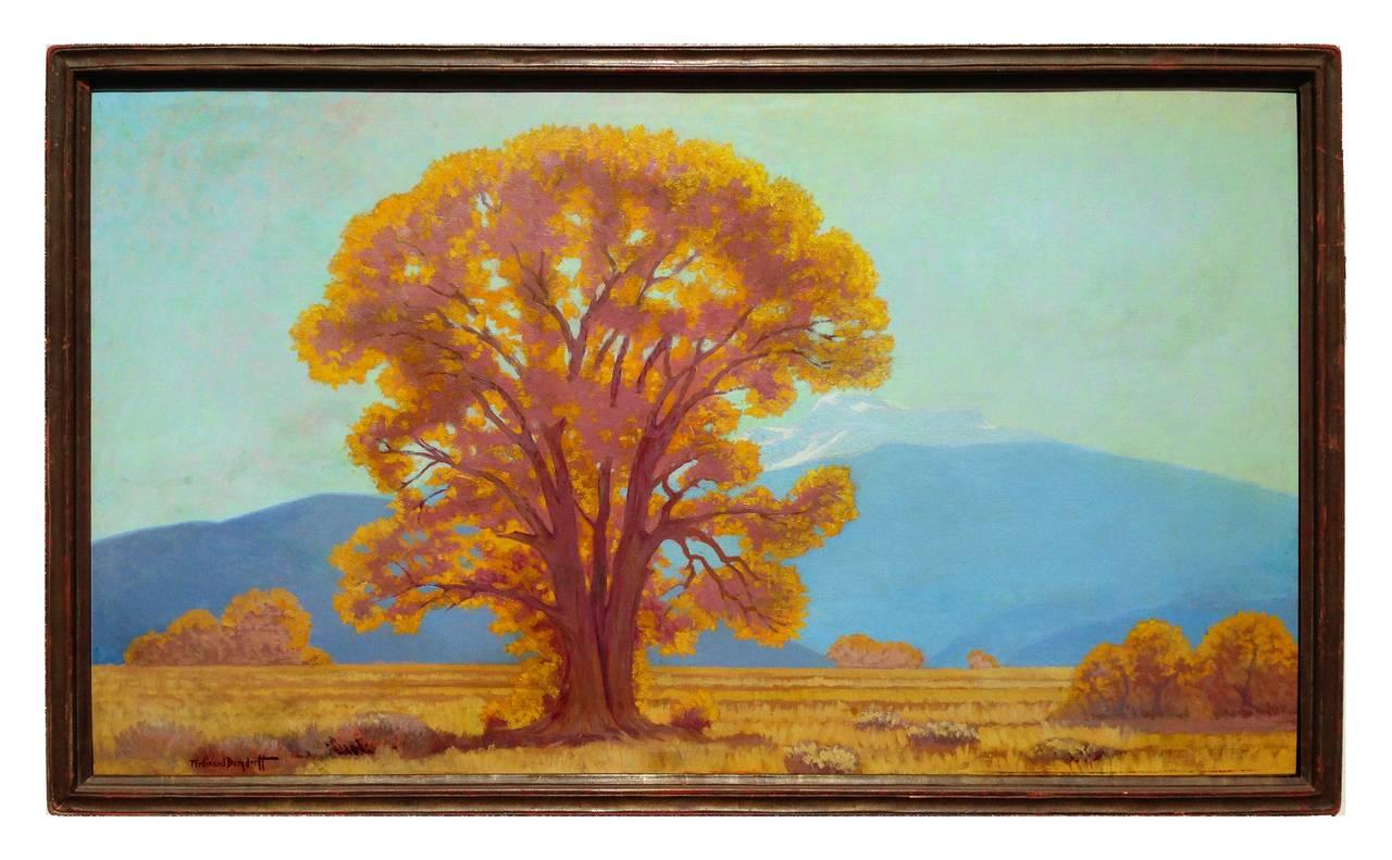Ferdinand Burgdorff Landscape Painting - California Oak, 1935