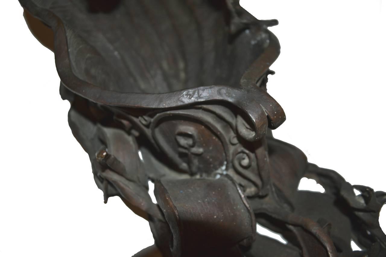 Mid Century Bronze Sculpture -- Poseidon's Fury  For Sale 3