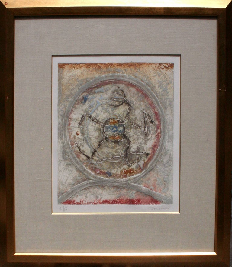 Pierre Marie Brisson Abstract Print - Coming Alive Abstract