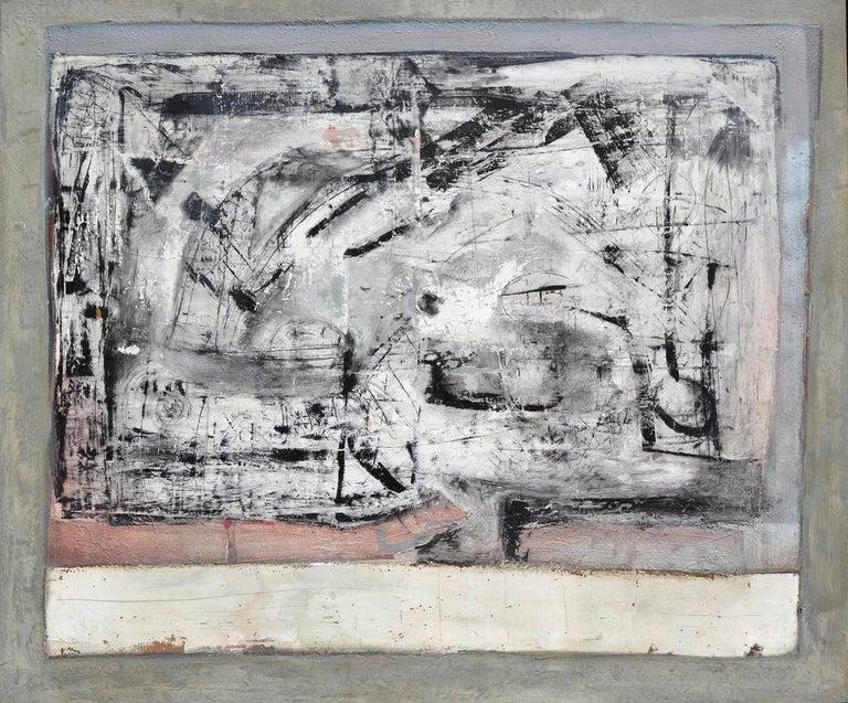 Sasha Rogers Abstract Painting - Open Window Abstract