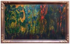 Eucalyptus Trees at Dawn's First Light