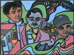 The Three Philadelphians Figurative