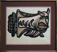Abstracted Bull