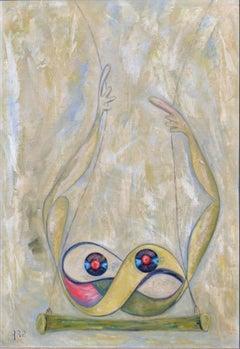 Trapez by Hilda Arp