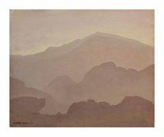 Mountain Mist Landscape, C. 1940s
