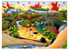 Springtime in Wonderland by Art Decker