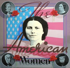 Woman Patriots Harriet B. Stowe, Eleanor Roosevelt, Amelia Earhart, Clara Barton