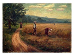 French School 19th Century Autumn Harvest