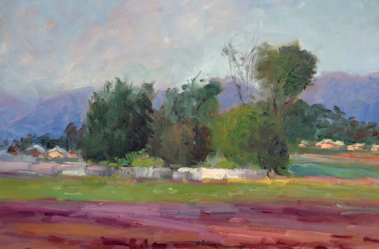 California Scenery - Jack Lynn - American Impressionist Painting by Jack Lynn