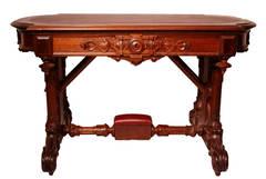 Walnut Desk Table, 1864