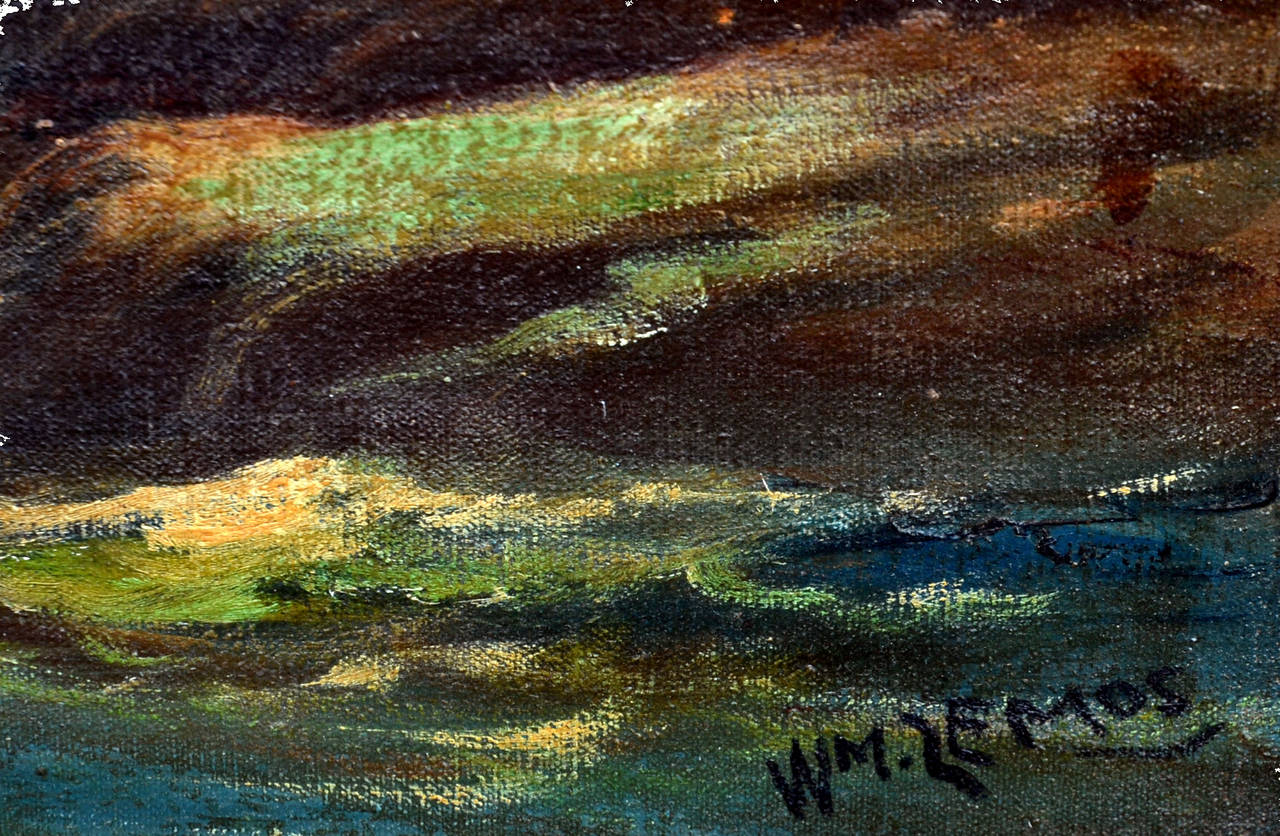 Cypress Point - Impressionist Painting by William M. Lemos