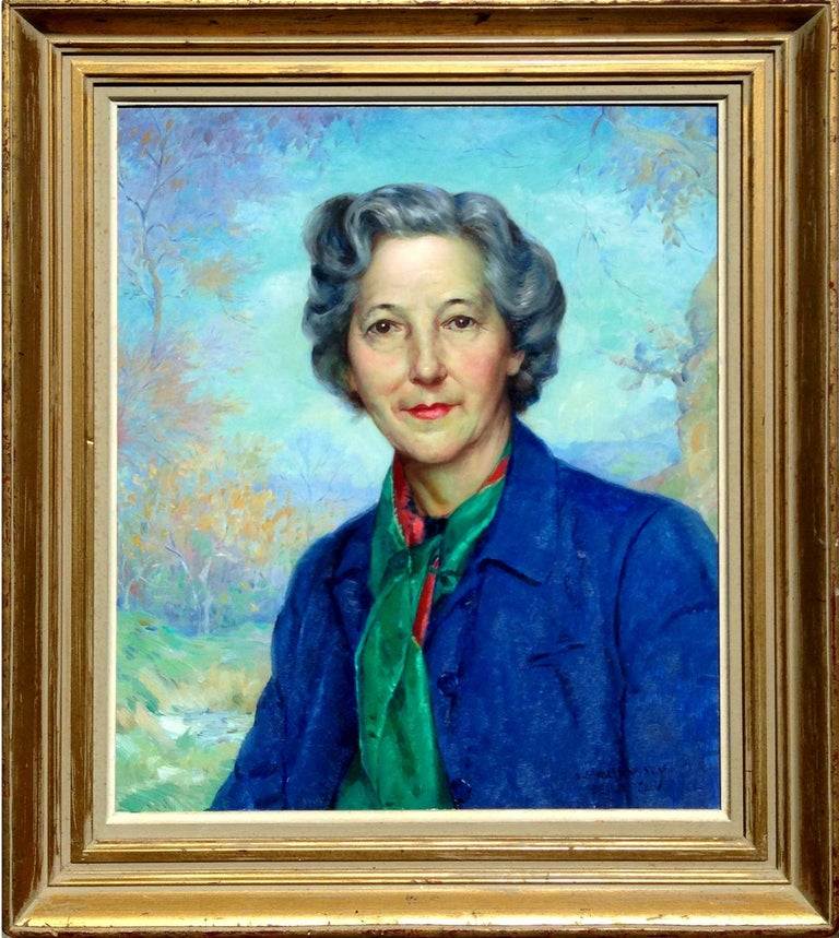 Portrait of Carmel Artist Doris Rohr
