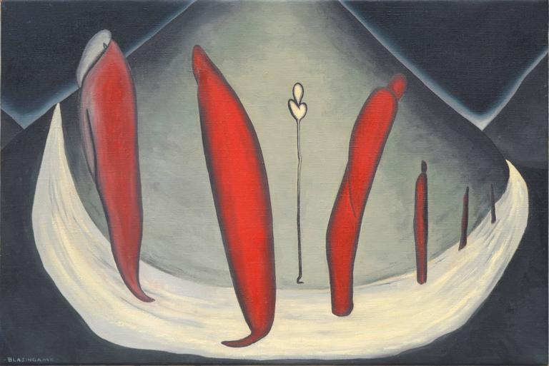 Marguerite Blasingame Figurative Painting - The Adherents