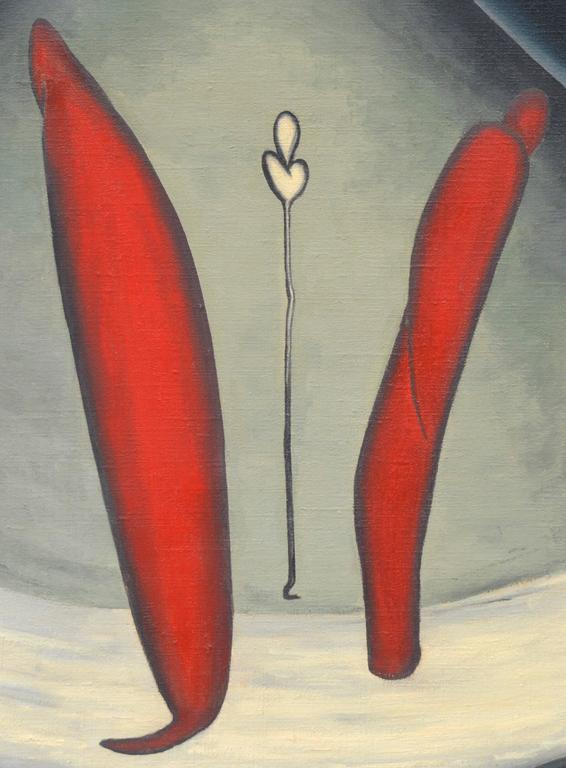 The Adherents - Painting by Marguerite Blasingame