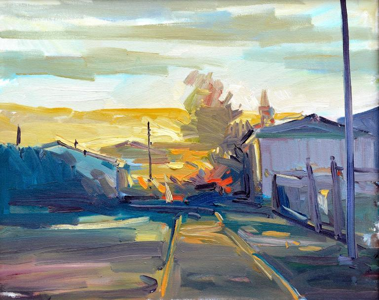 Pacific Grove, California Landscape  - Painting by Unknown
