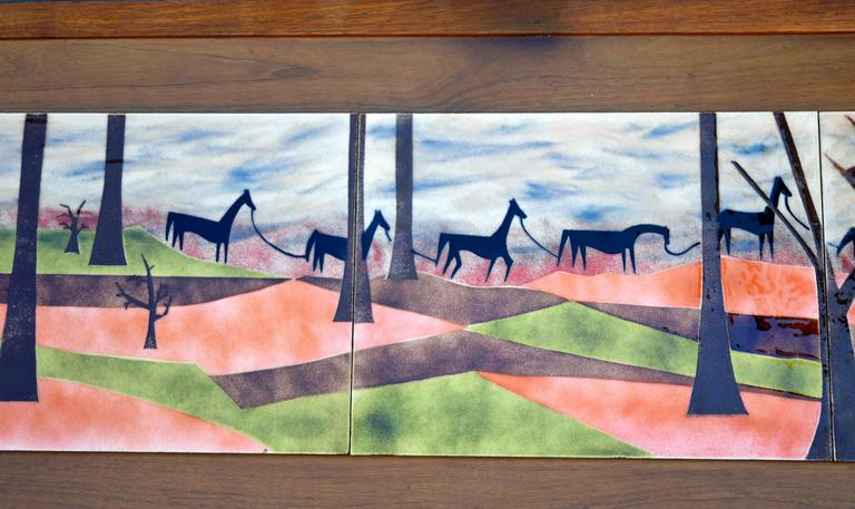 Judith Daner Horses On The Trail At 1stdibs