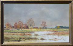 19th Century Barbizon School Landscape