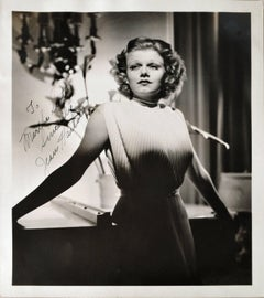 Jean Harlow Signed Photograph