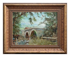 Old Napa Bridge Landscape