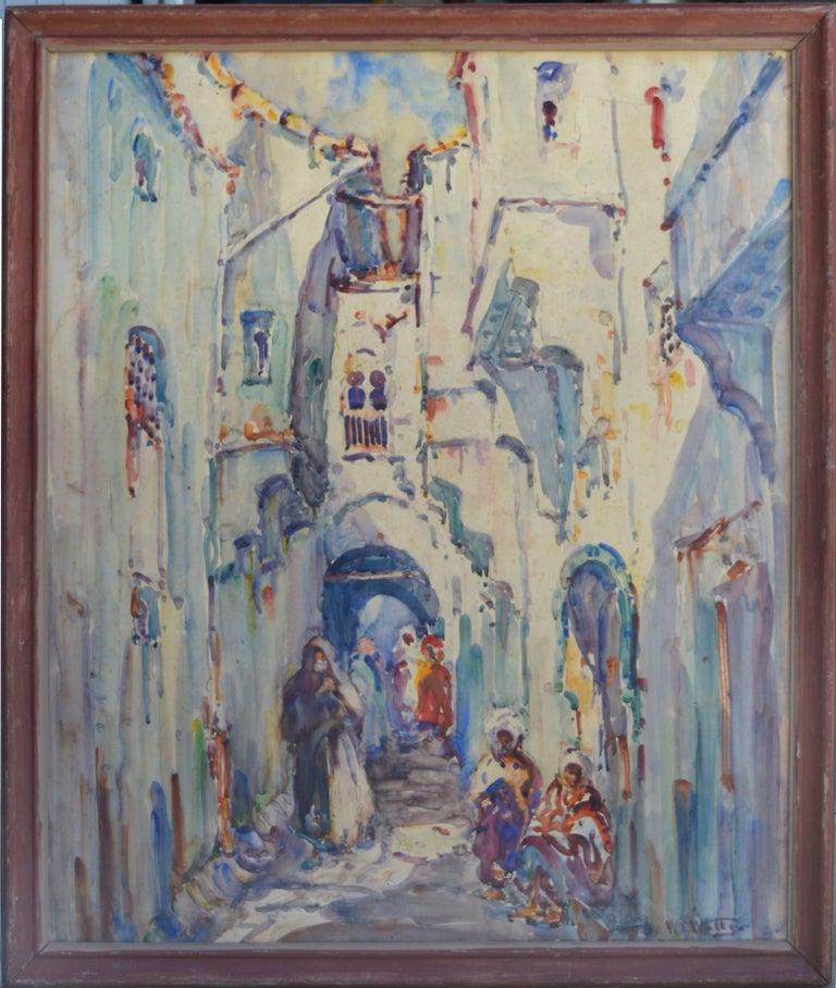 William Clothier Watts Figurative Painting - Constatine, Algeria