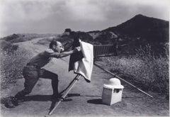 Edward Weston at Oceano Dunes by Edward Chandler Weston 1947